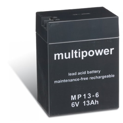Powery-batterie-au-plomb-multipower-MP13-6-6V-13Ah-78Wh-Lead-Acid-Noir