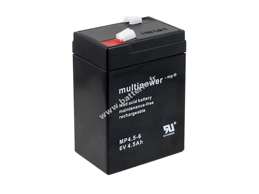 powery batterie de remplacement pour lamp johnlite. Black Bedroom Furniture Sets. Home Design Ideas