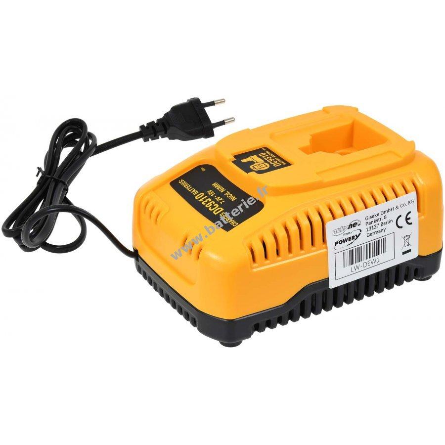 chargeur pour batterie black decker perceuse visseuse ps3300. Black Bedroom Furniture Sets. Home Design Ideas