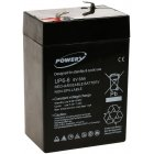 Powery Batterie au plomb-gel 6V 6Ah